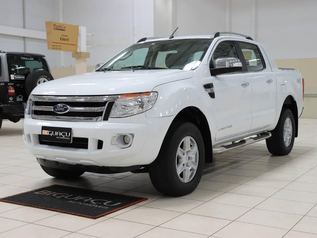 Foto numero 3 do veiculo Ford Ranger LIMITED 3.2 4X4 CD AUT - Branca - 2014/2015