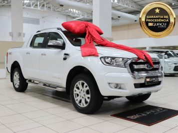 Ford Ranger 3.2 LIMITED AUT 2016/2017 Branca 4P